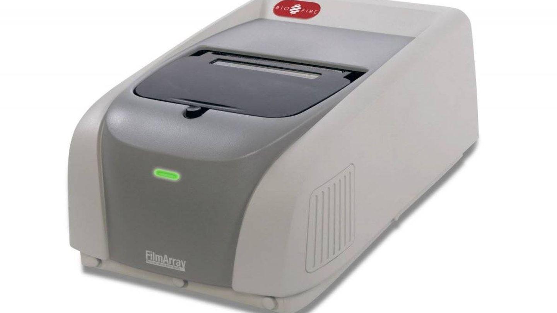Uno de los dispositivos de PCR múltiple. (bioMérieux)