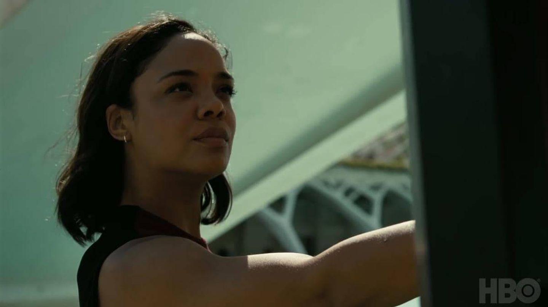 Tessa Thompson en la tercera temporada de 'Westworld'. (HBO)