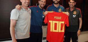 Post de La difícil labor de convencer a Piqué para que siga en la Selección tras el Mundial