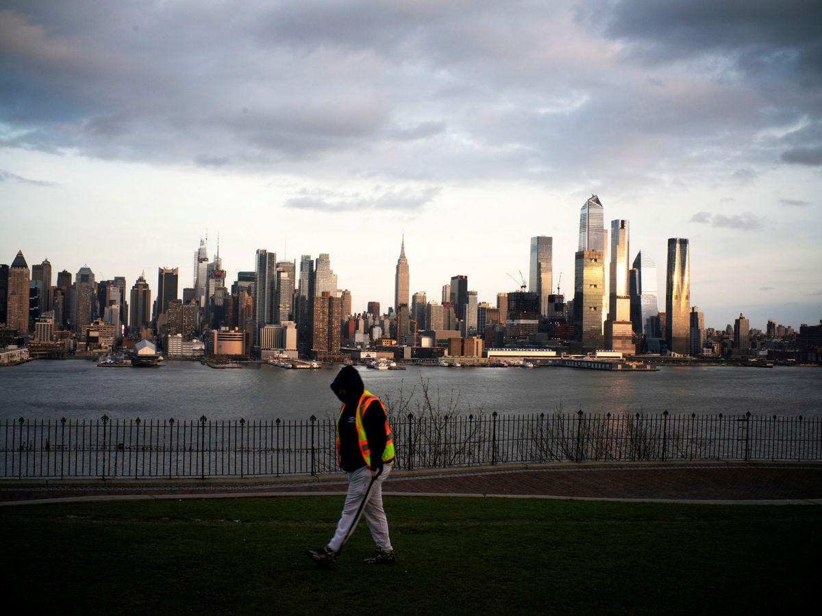 Foto: Brote de coronavirus en Nueva York. (Reuters)