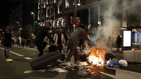 Las protestas contra el toque de queda causan otra noche de disturbios en España