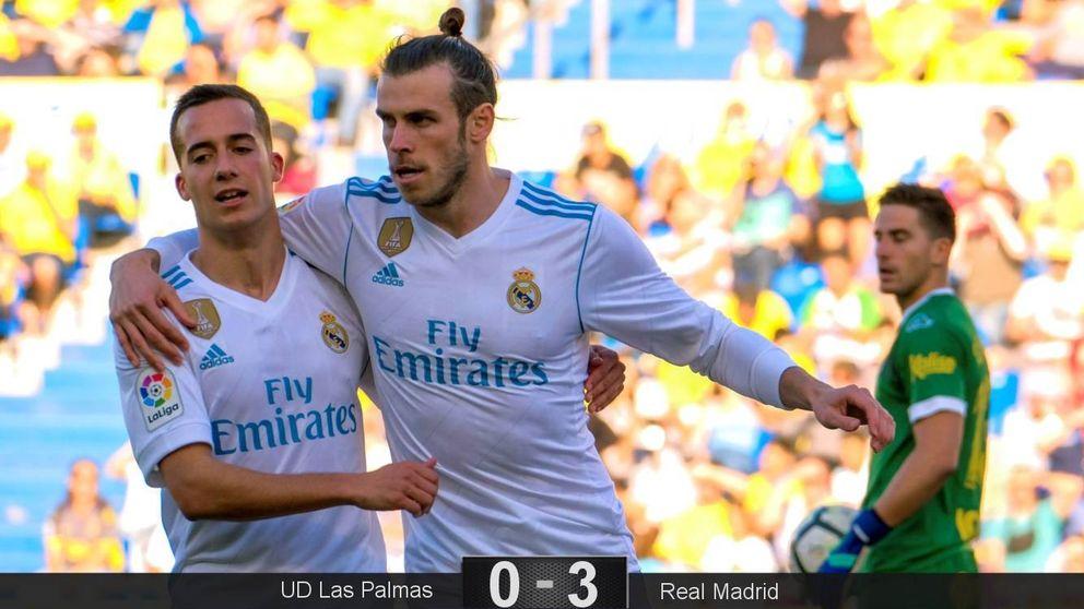 Un poco de alegría de Bale resuelve el enésimo trámite del Madrid en Liga