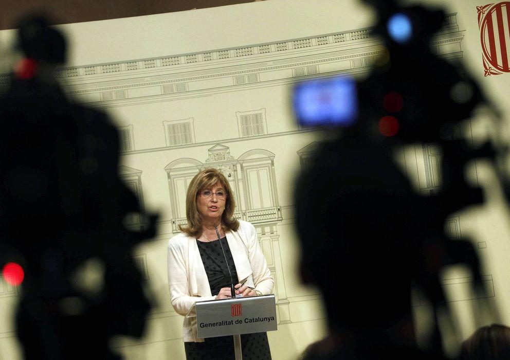 Foto: La consejera catalana de Educación, Irene Rigau (Efe)