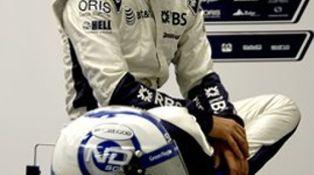 El primer día en la oficina...de un Fórmula 1