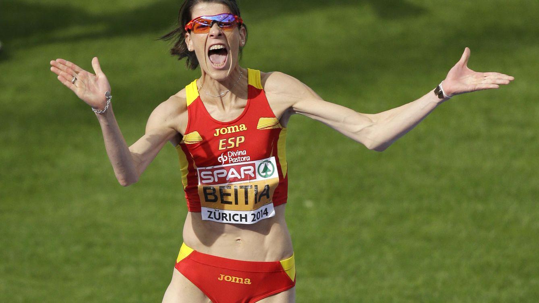 Foto: Ruth Beitia, capitana del equipo español que competirá en los Europeos de Praga.