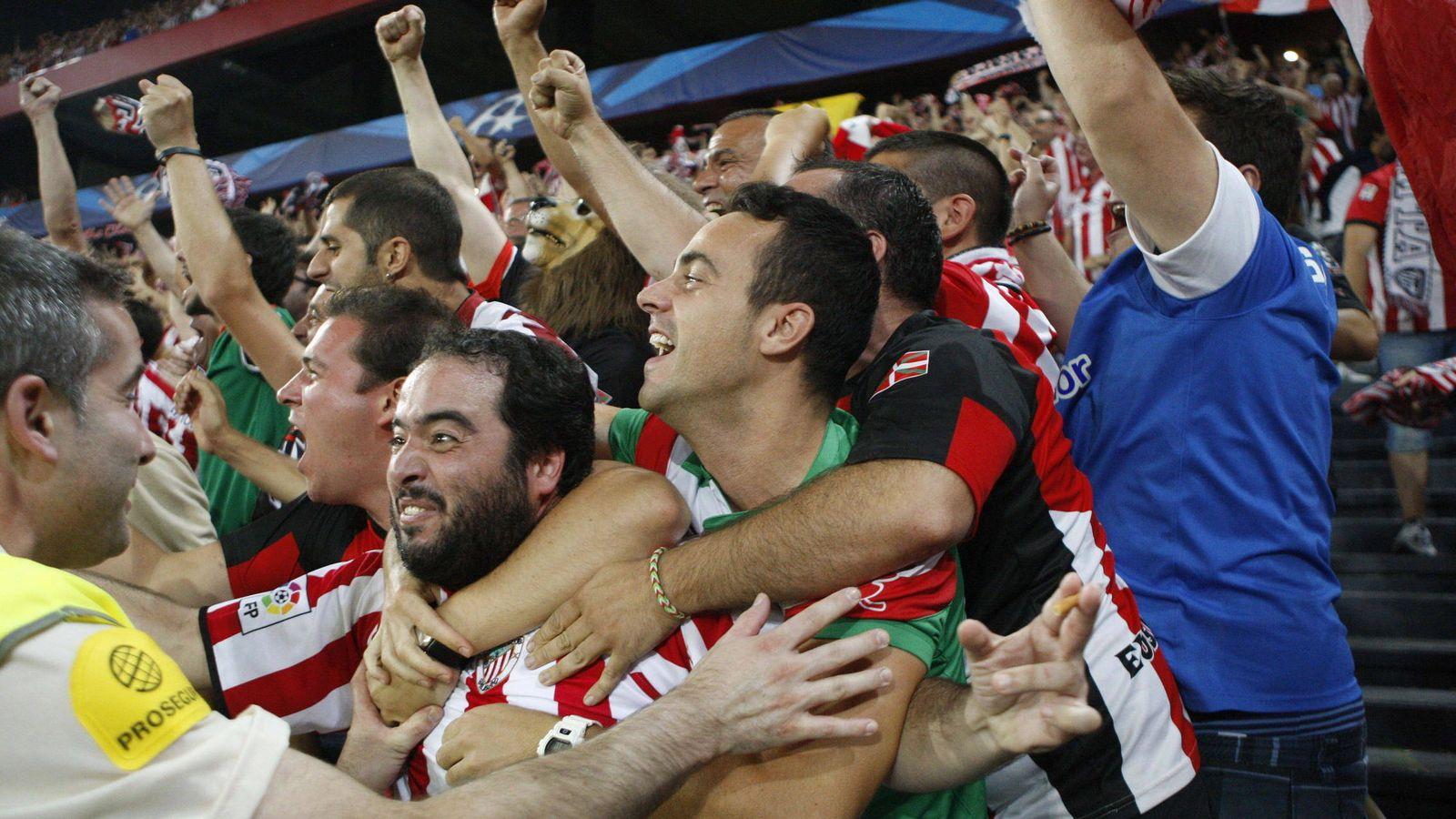 Foto: Aficionados del Athletic - Archivo. (EFE)