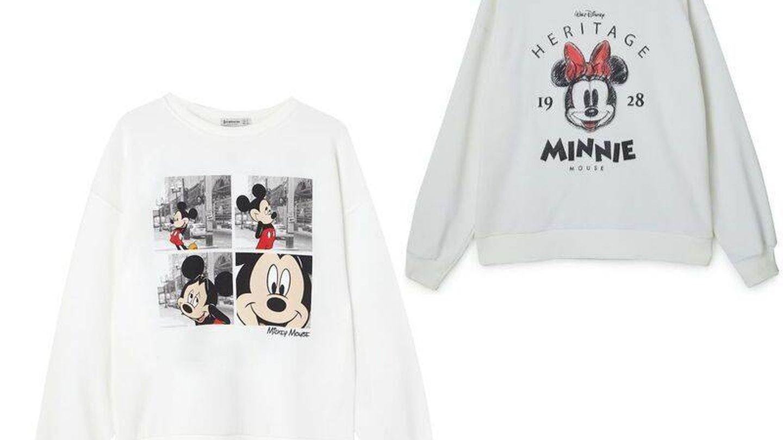 Sudaderas Mickey y Minnie. (Cortesía)