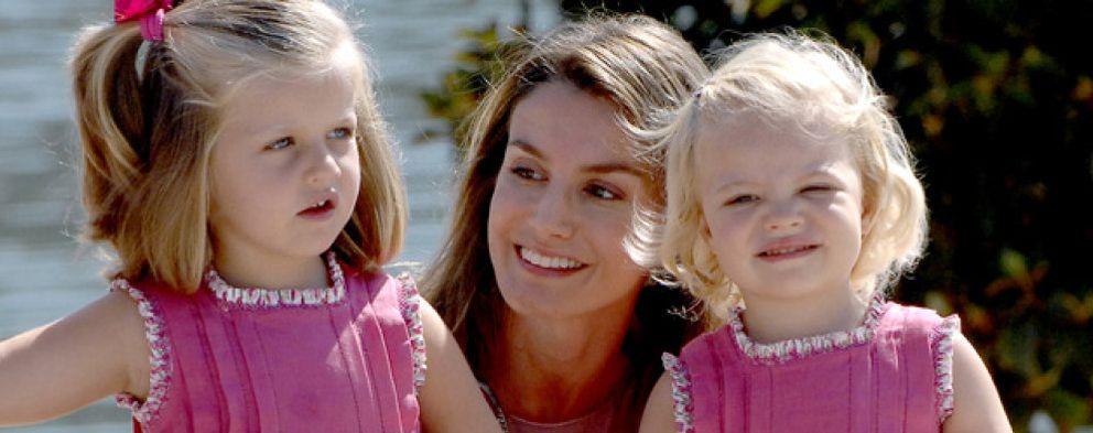 Las infantas Leonor y Sofía, de cumpleaños en una granja escuela