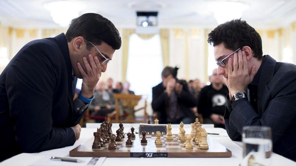 Foto: Imagen de un torneo de ajedrez en Zúrich. (EFE)