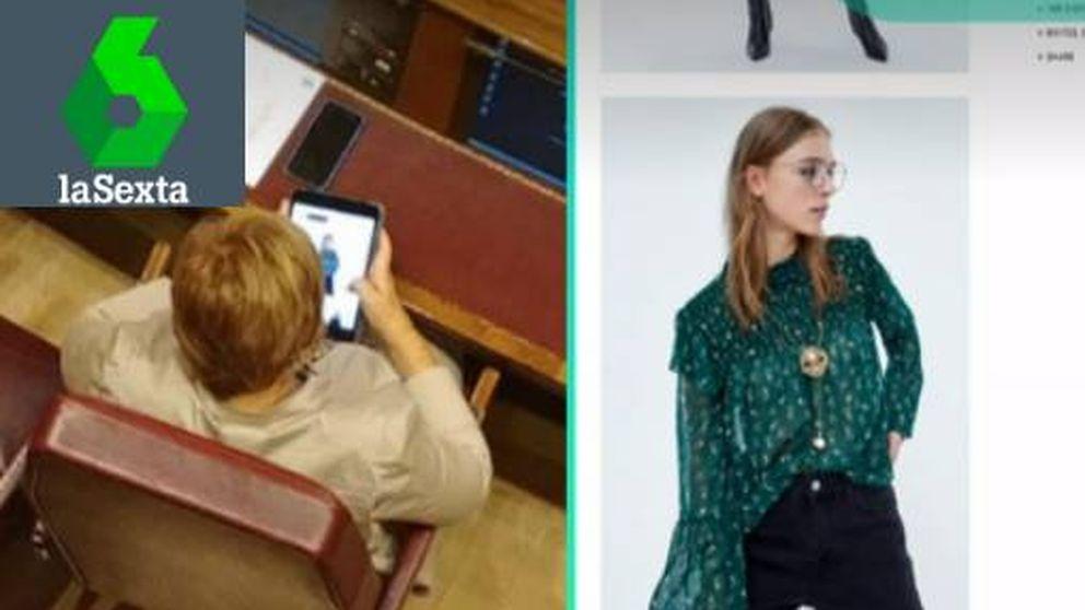 Villalobos se marca otro 'Candy Crush': la pillan mirando ropa 'online' en el Congreso