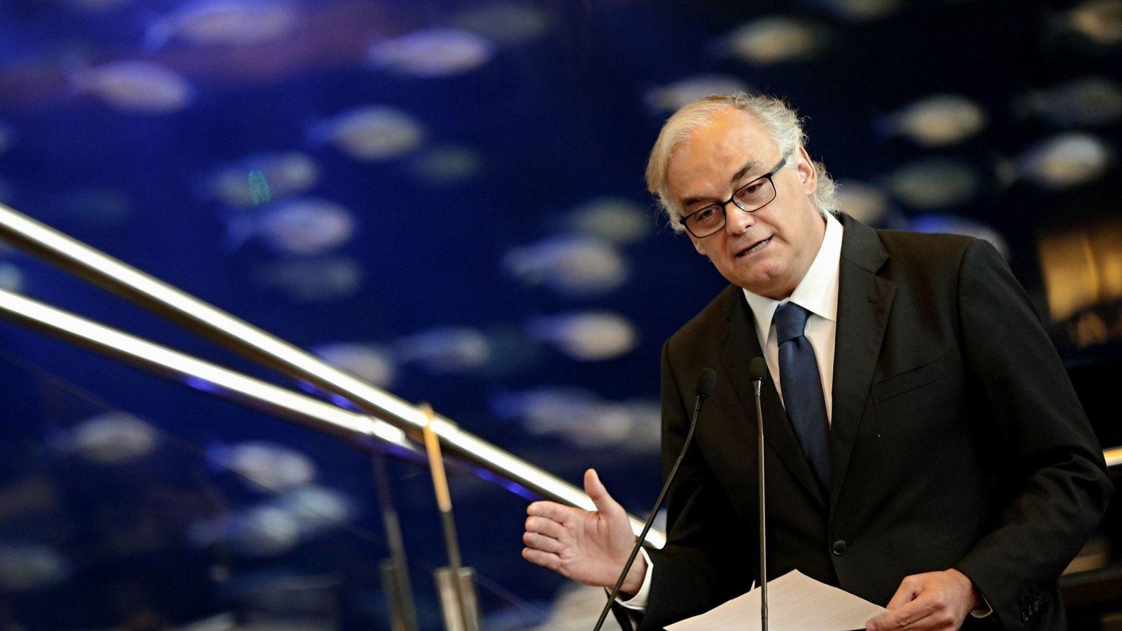 Foto: El portavoz de la delegación española en el Parlamento Europeo y vicepresidente del Grupo Popular Europeo, Esteban González Pons. (EFE)