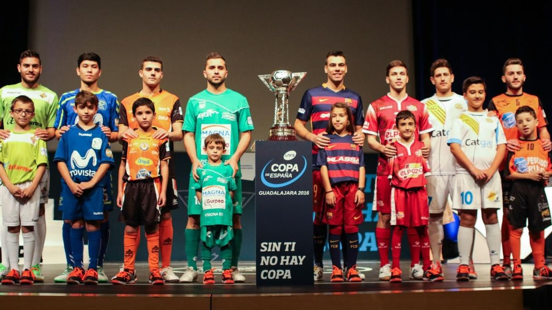 Foto: Imagen del sorteo de la Copa de España (Foto: LNFS)
