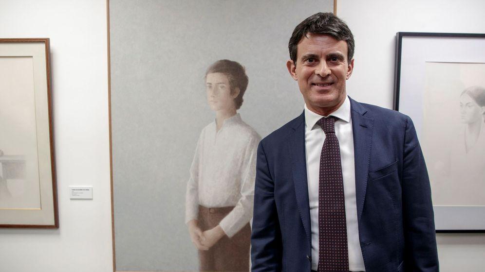 Foto: El candidato a la alcaldía de Barcelona Manuel Valls. (EFE)
