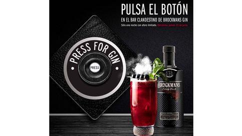 Pulsa el botón en el Bar clandestino de Brockmans Gin y vive una noche de experiencias sensoriales