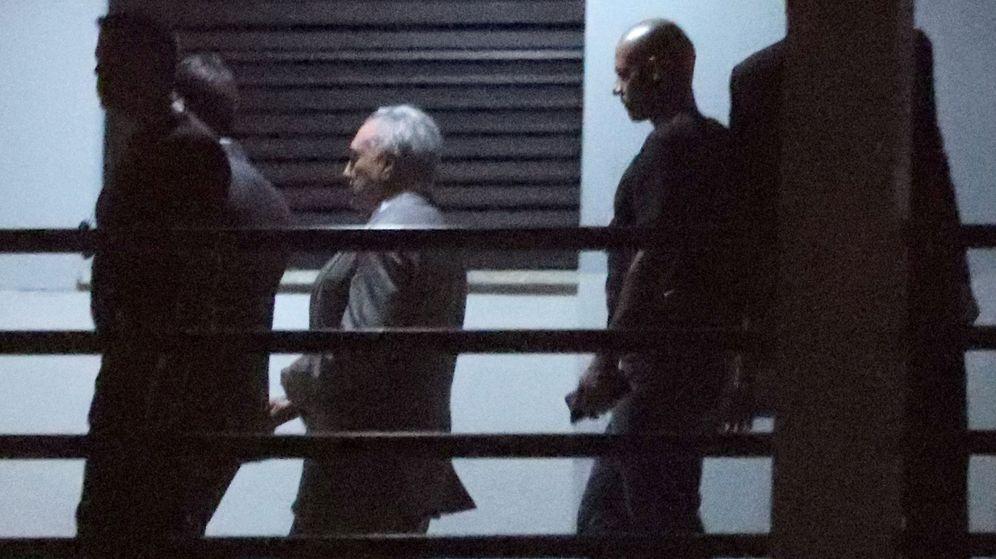 Foto: El expresidente Michel Temer, arrestado. (Reuters)