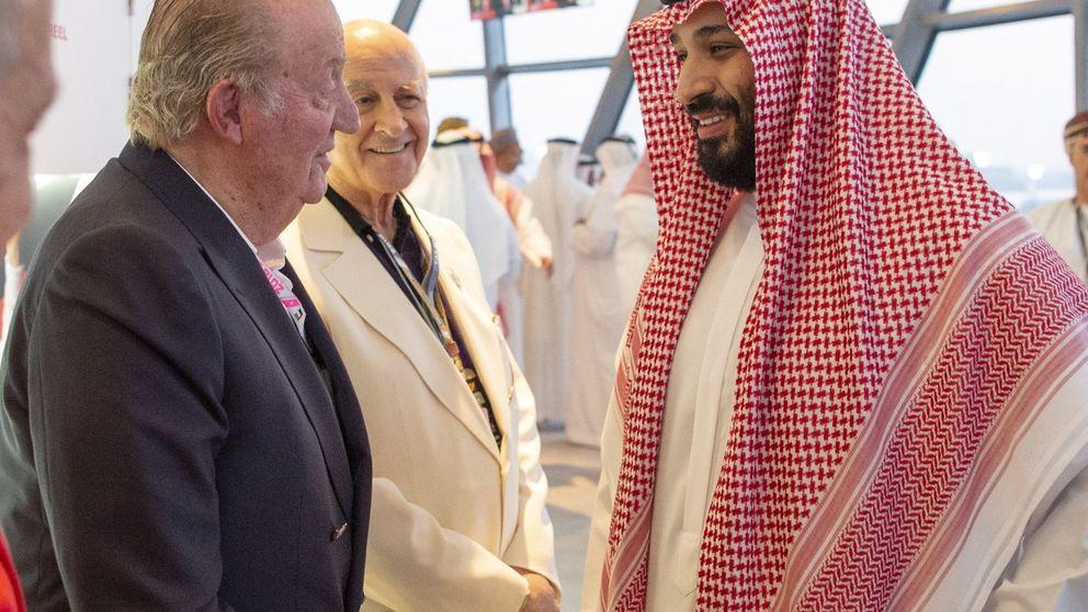 Una foto tomada en el peor momento para la monarquía española