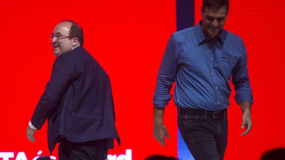 El tercer otoño del PSOE en Cataluña
