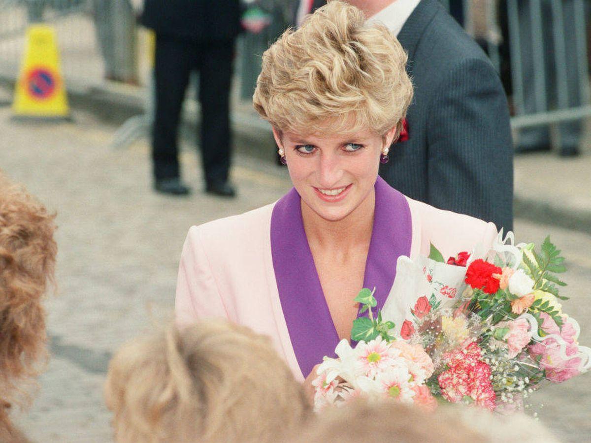 Foto: La princesa Diana, en 1992. (Getty)