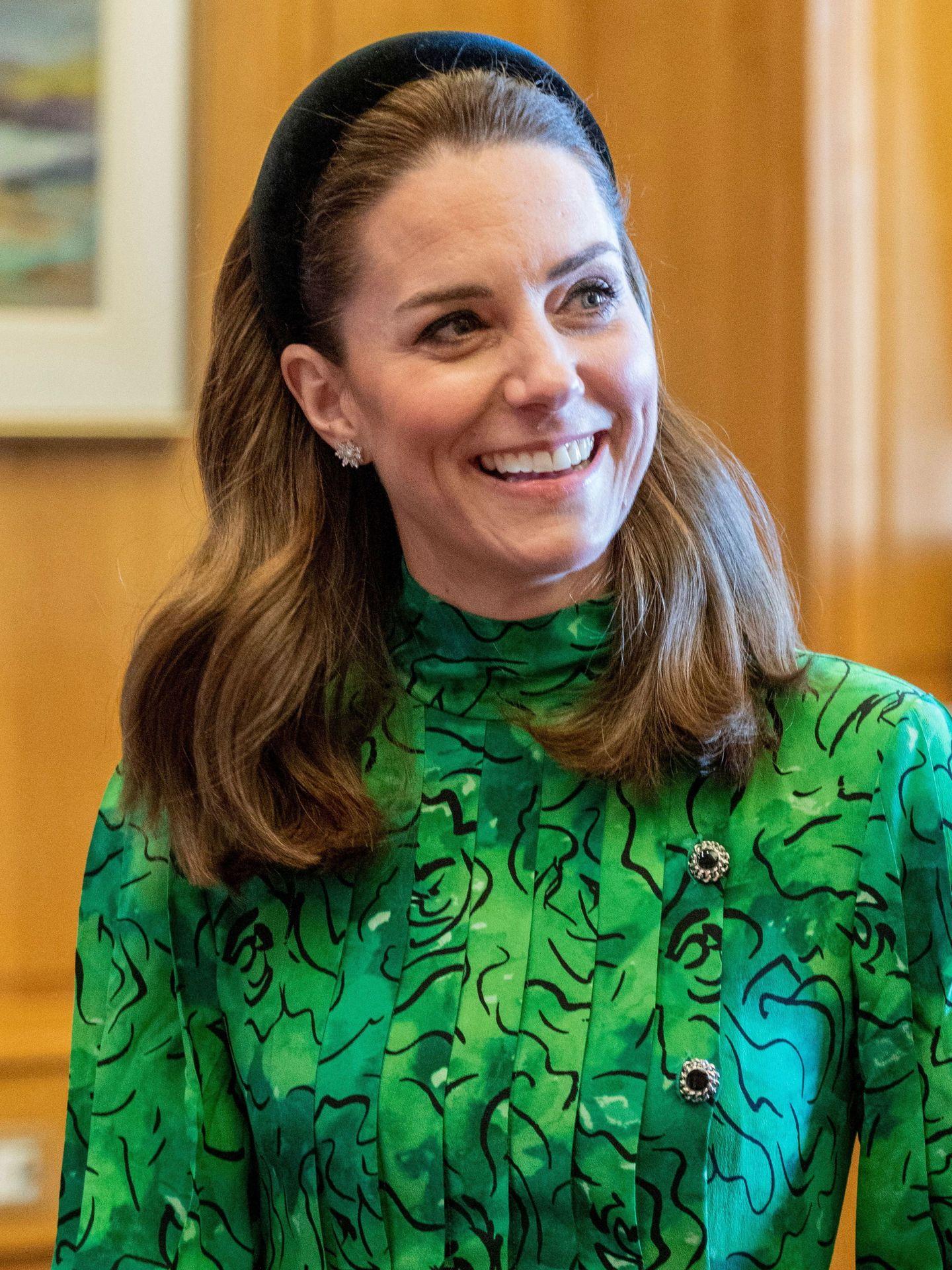 Kate Middleton, en Irlanda. (EFE)