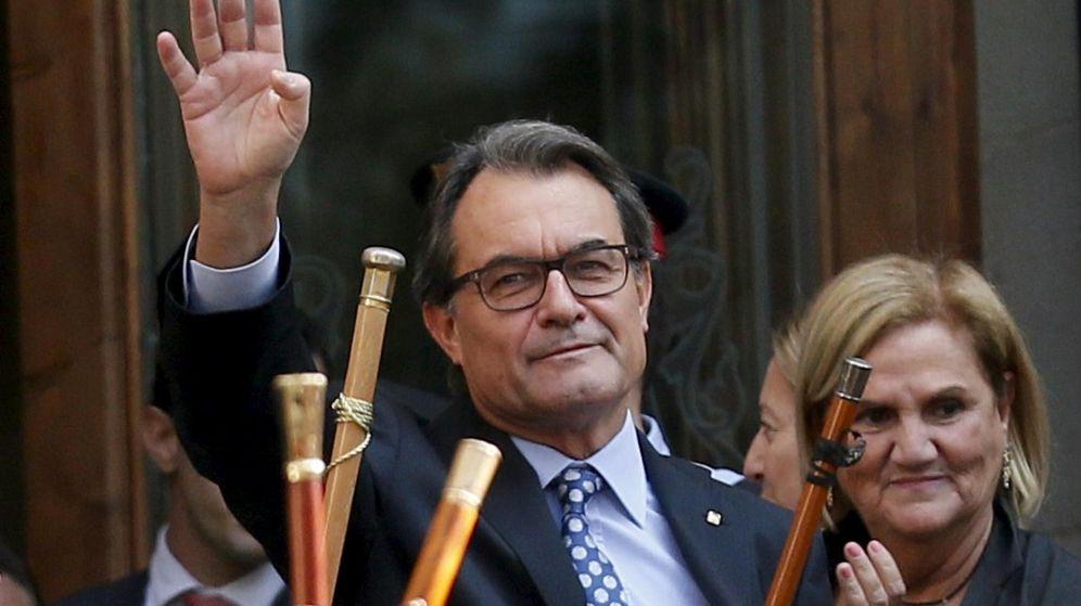 Foto: El 'president' de la Generalitat, Artur Mas, el día de su declaración ante el juez. (Reuters)