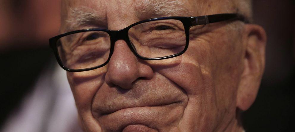 Foto: El magnate Rupert Murdoch (REUTERS)