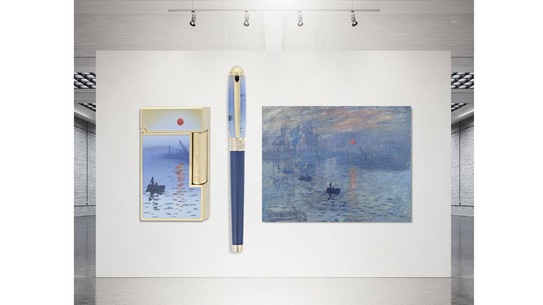 S.T. Dupont rinde homenaje a Monet con una edición limitada