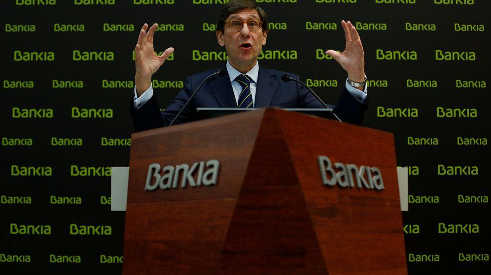 Foto: El presidente de Bankia, José Ignacio Goirigolzarri, en la presentación del plan estratégico. (Reuters)