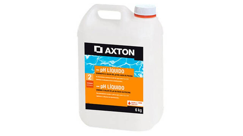 Reductor de pH para piscinas de Axton