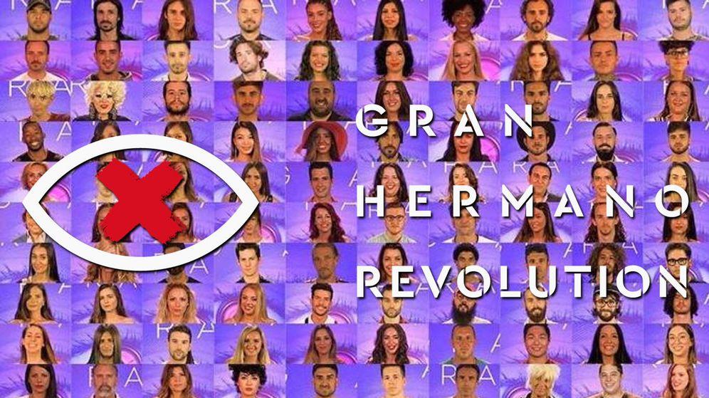 Foto: Los 100 candidatos a 'GH Revolution'. (Mediaset España)