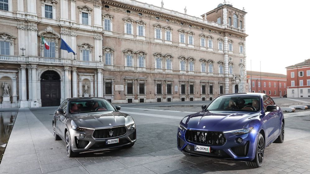 Foto: Trofeo y GTS, dos alternativas muy deportivas del Maserati Levante con motor de 580 caballos.