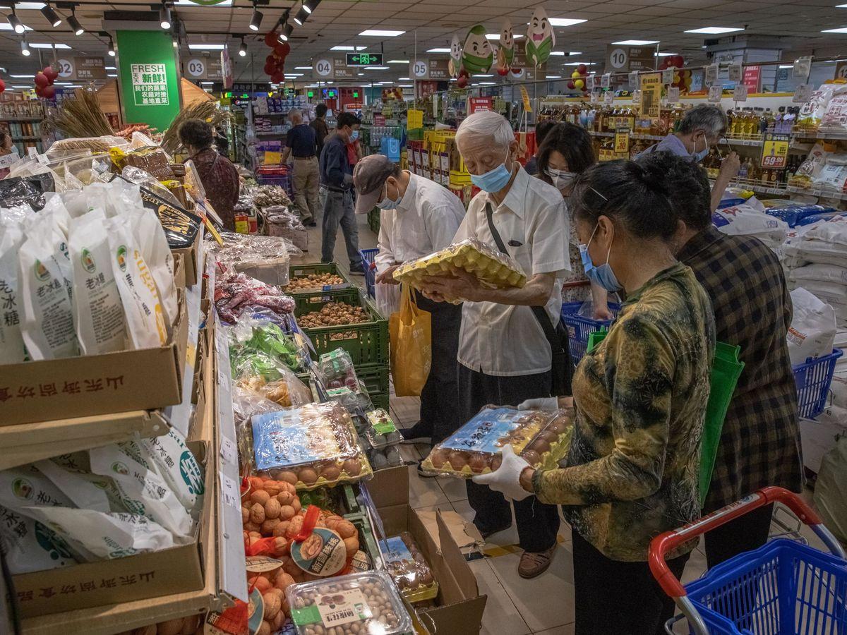 Foto: Mercado en China.