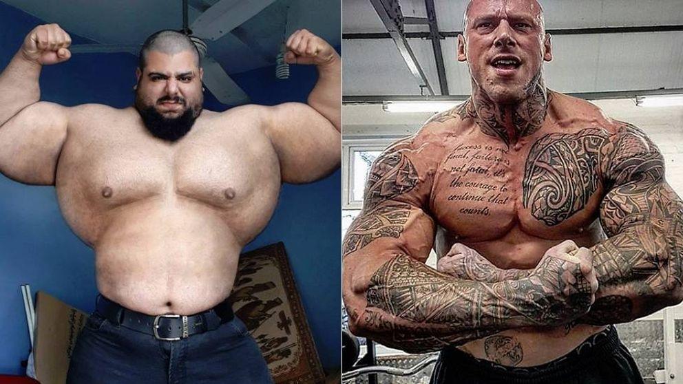 La pelea de gigantes de la MMA: el Hulk iraní contra el Kratos británico