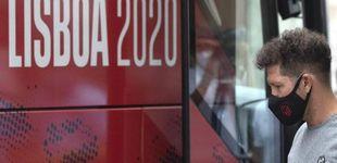 """Post de El Atlético retrasa el viaje y el Leipzig calienta el partido: """"Rozan siempre la provocación"""""""