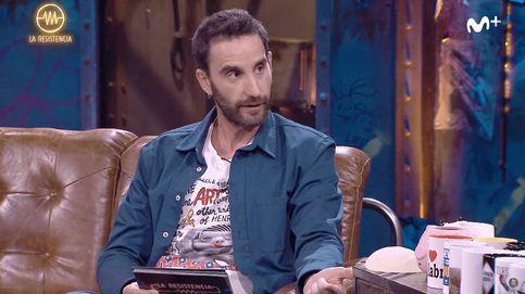 Rovira vuelve a 'La resistencia' y enseña el mensaje recibido más obsceno de Lago