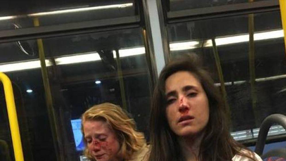 Foto: Imagen compartida por una de las víctimas en Facebook.