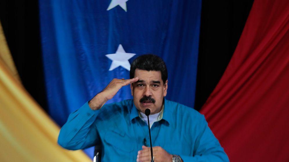 Foto: Fotografía cedida por la oficina prensa del Palacio de Miraflores, del presidente de Venezuela, Nicolás Maduro. (EFE)