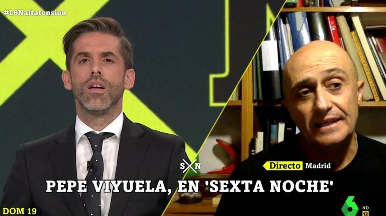 Yélamo y Pepe Viyuela. (La Sexta).