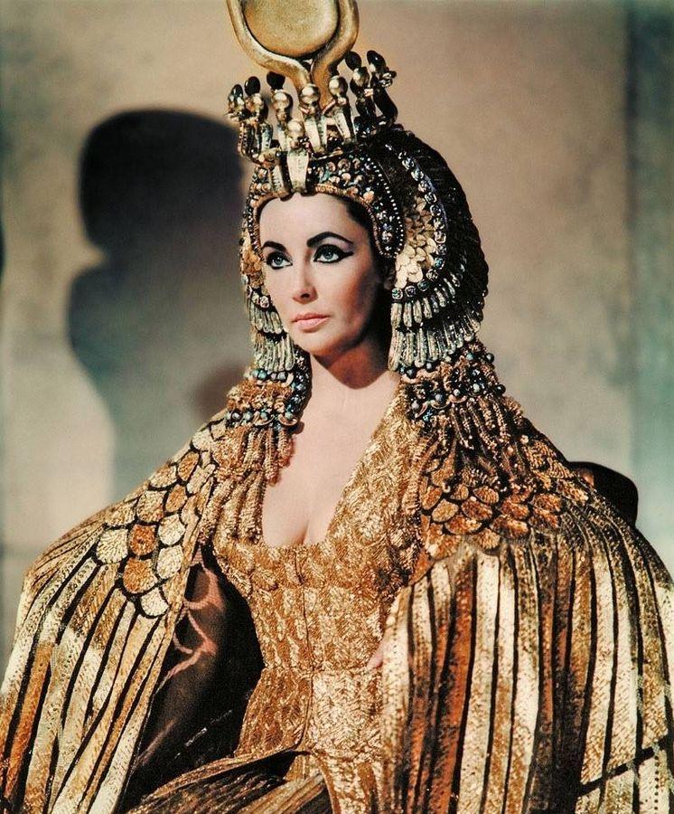 Foto: Elizabeth Taylor en 'Cleopatra'.