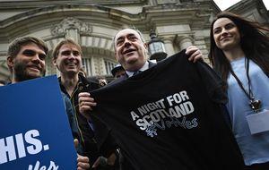 El constante ascenso de los independentistas escoceses, explicado en tres gráficos