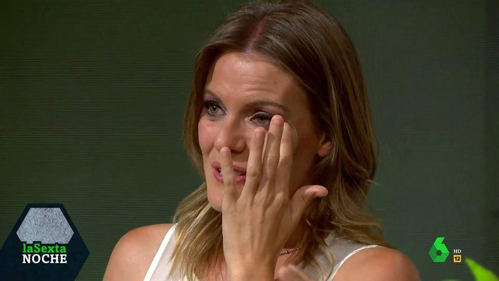 'La Sexta Noche' hace llorar a Andrea Ropero en su último programa