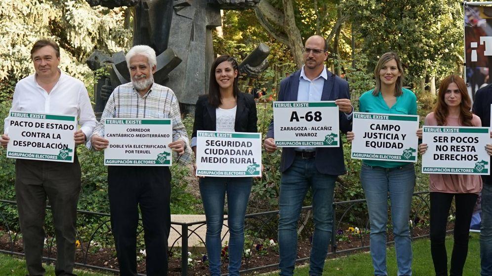 Foto: Candidatura de Teruel Existe. (Cedida)