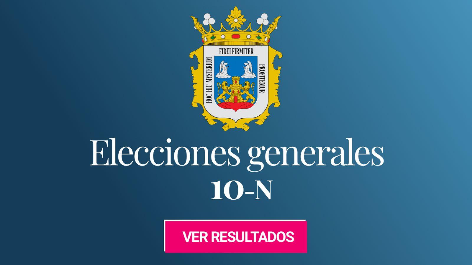 Foto: Elecciones generales 2019 en Lugo. (C.C./EC)