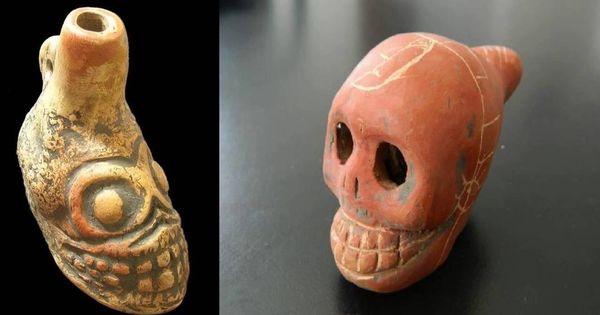 «El sonido de la muerte misma»: los misteriosos silbatos aztecas llegan a España