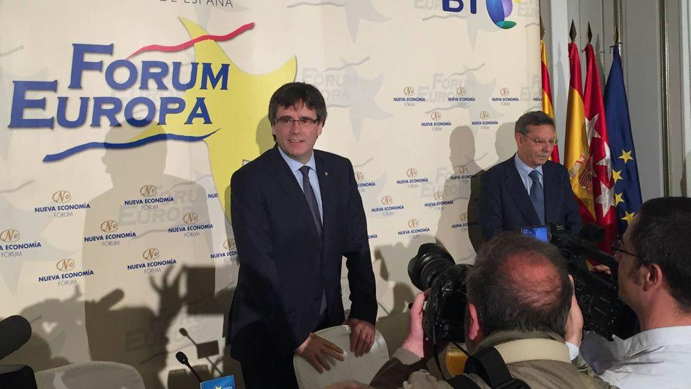 El Gobierno y los partidos dejan solo a Puigdemont en su debut en Madrid