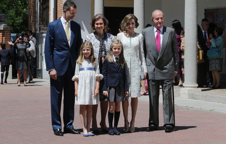 Foto: La primera comunión de la Princesa de Asturias