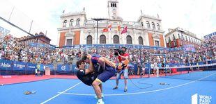 Post de Los mejores puntos de las finales del Valladolid Master de pádel
