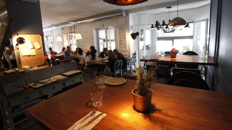 Imagen del interior del restaurante Pipa & Co (Enrique Villarino)