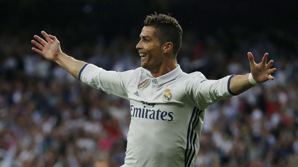 Foto: Cristiano Ronaldo celebra uno de sus goles al Atlético de Madrid en las semifinales de Champions. (Reuters)