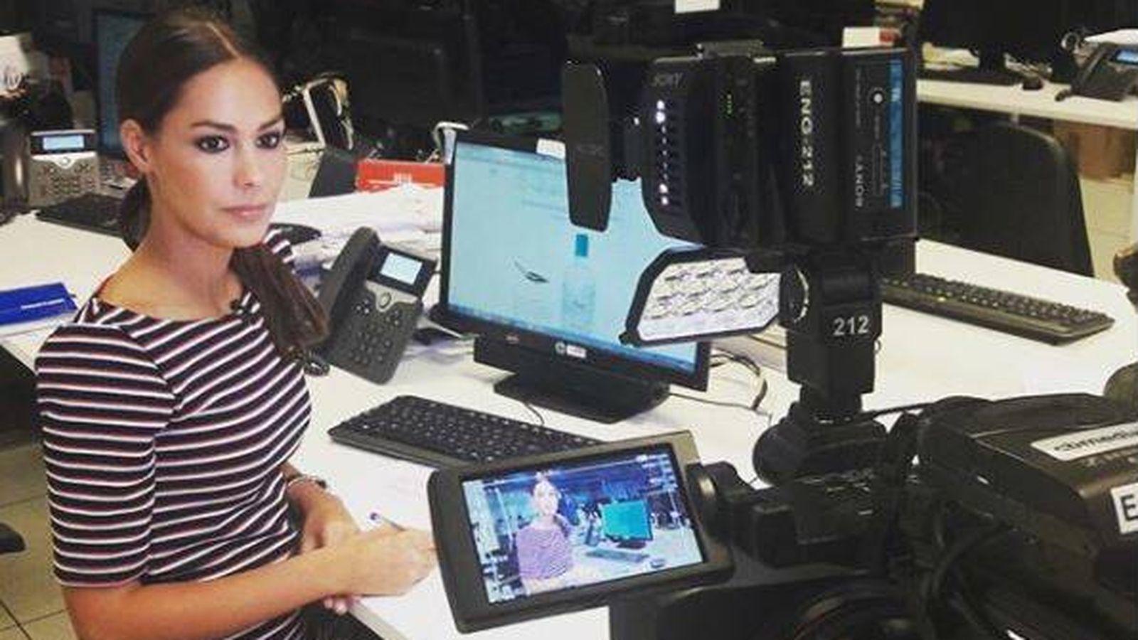 Foto: María Miñana, nueva reportera de 'En el punto de mira'. (Instagram)