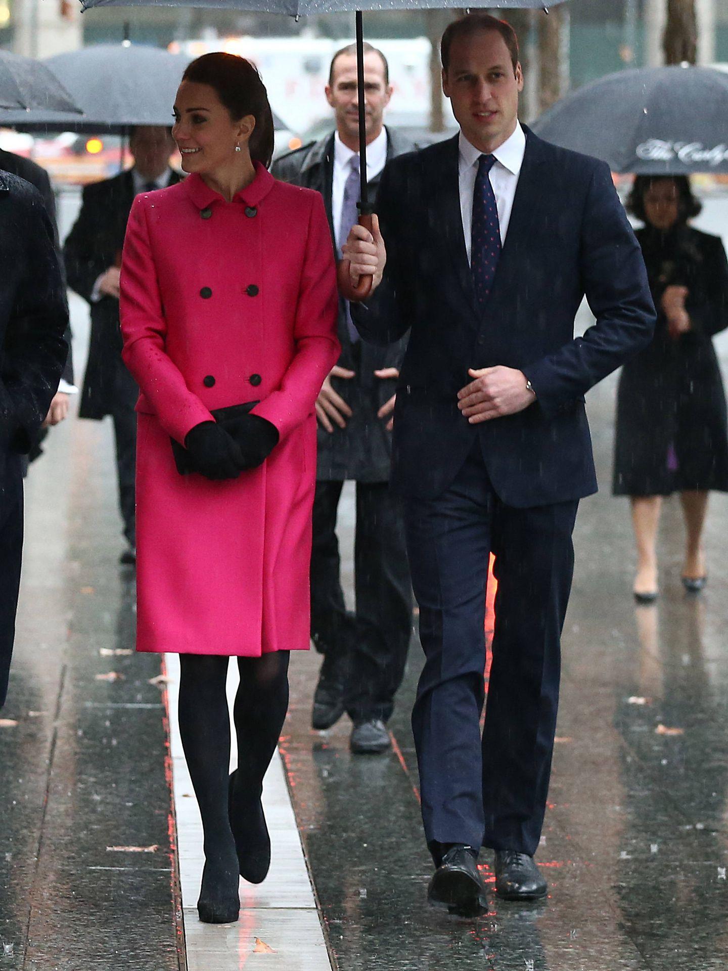 Guillermo y Kate en Nueva York. (Getty)